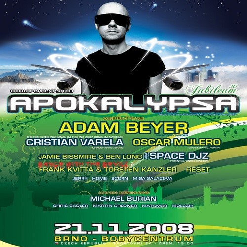 DJ Chris Sadler live at Apokalypsa 30th Jubelium (November 2008)