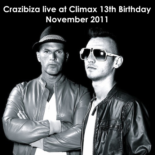 Crazibiza live at Climax (November 2011)