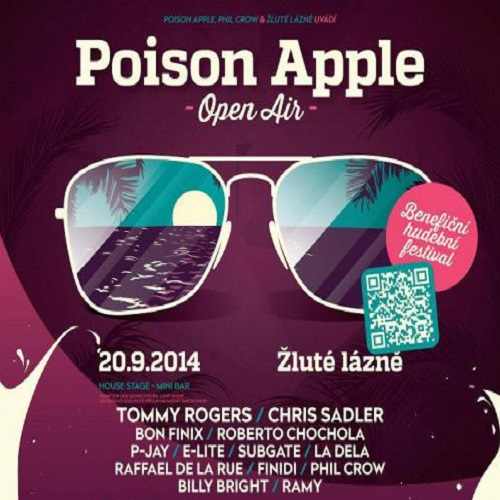 DJ Chris Sadler live at Poison Apple festival (September 2013)